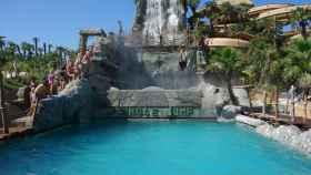 Una de las populares atracciones de Aqualandia.