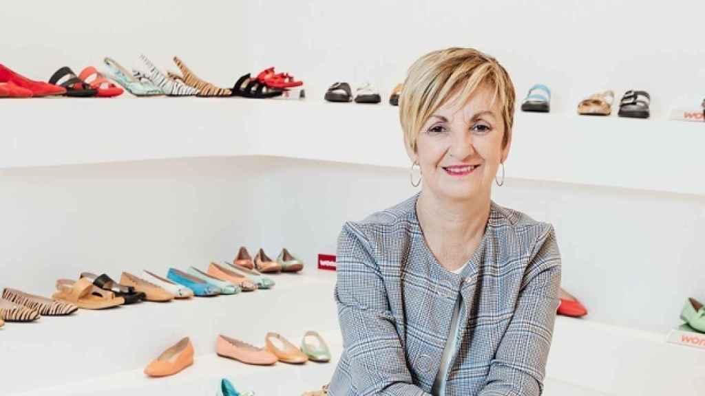 Marián Cano, presidenta de la Asociación Valenciana de Empresarios del Calzado (Avecal) y presidenta interina de la Federación de Industrias del Calzado Español (Fice)