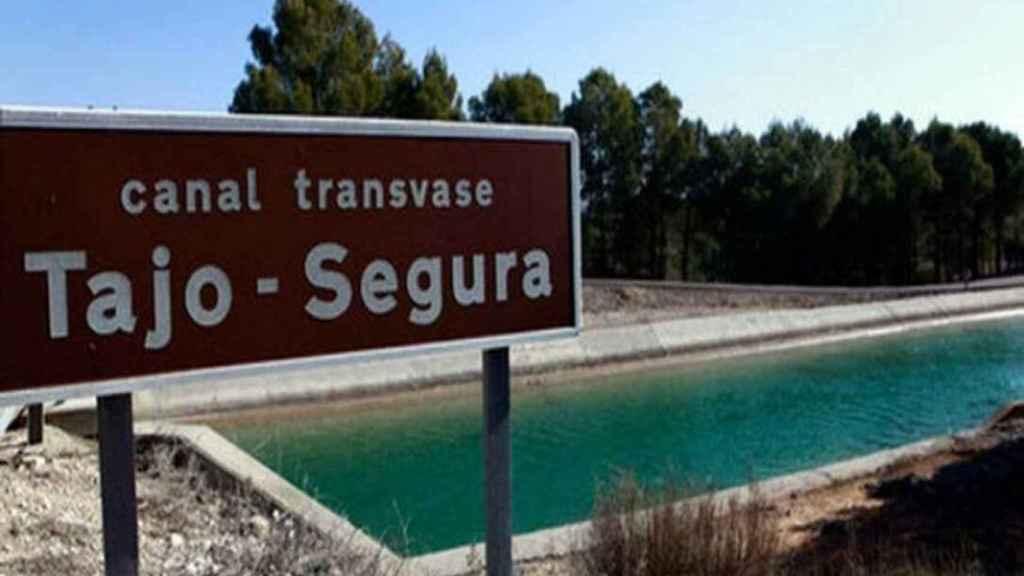 Trasvase Tajo-Segura en una imagen del Ministerio de Transición Ecológica.