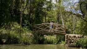 Una de las excursiones discurre desde Mas d'Ull de Canals hasta la Font de la Coveta.
