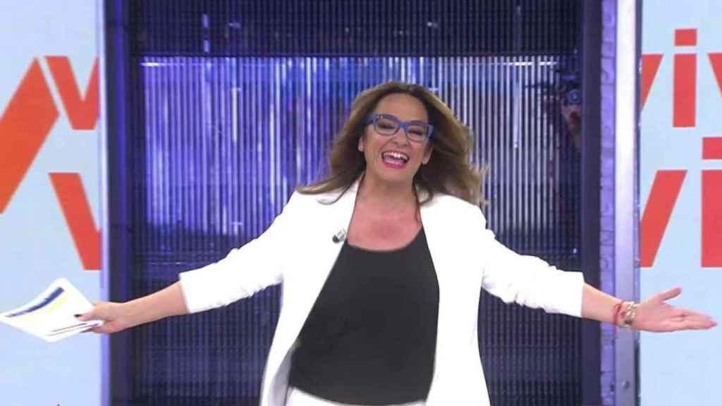 Toñi Moreno estará al frente de 'Viva la vida' durante el verano.