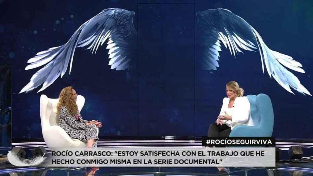 Rocío Carrasco ha confesado que es feminista gracias a la docuserie.