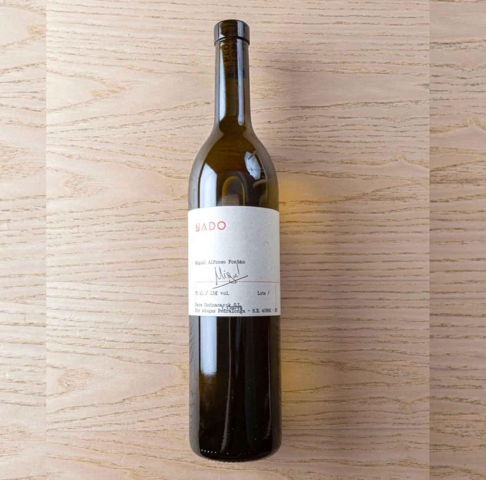 Uno de los vinos 'personalizados' de NaDo.