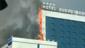 El Hotel Nuevo Madrid.