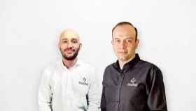 Los fundadores de la startup Fracttal, Alejandro Pérez y Christian Struve.