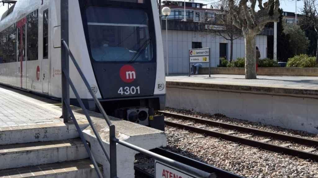 Imagen de la Línea 1 de Metrovalencia.