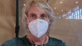 Jesús Calleja en el vídeo que compartió de su vacunación.
