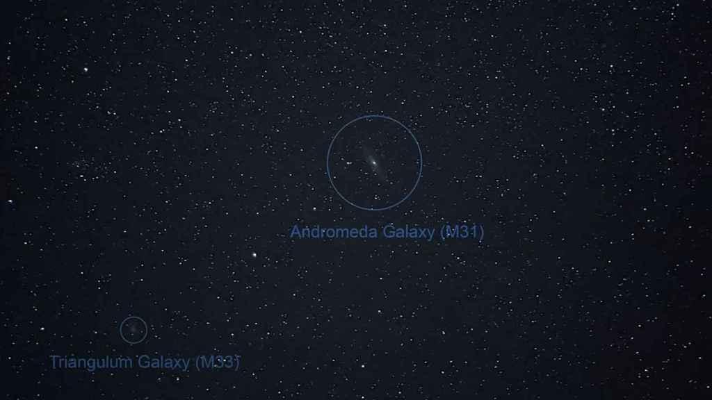 Otro ejemplo de astrofotografía realizada con el Google Pixel 4