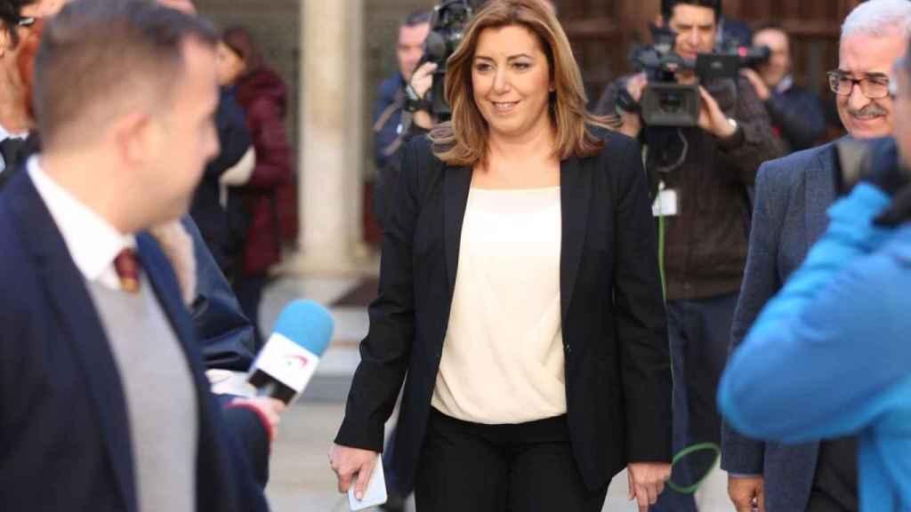 Susana Díaz en noviembre de 2016.