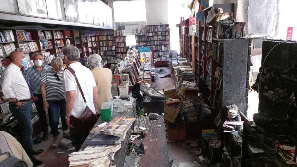 Visita a la Librería Proteo de Málaga.