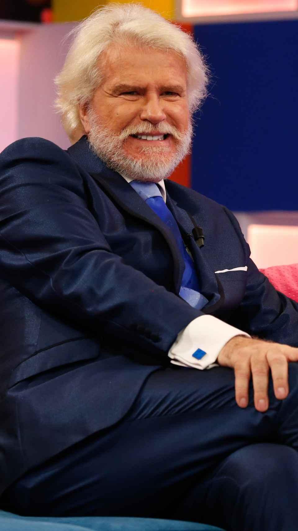Edmundo en un programa en noviembre de 2019.