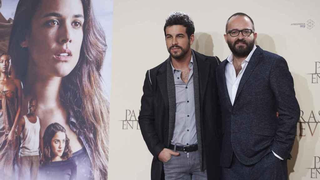 Fernando González Molina y su actor fetiche, Mario Casas.