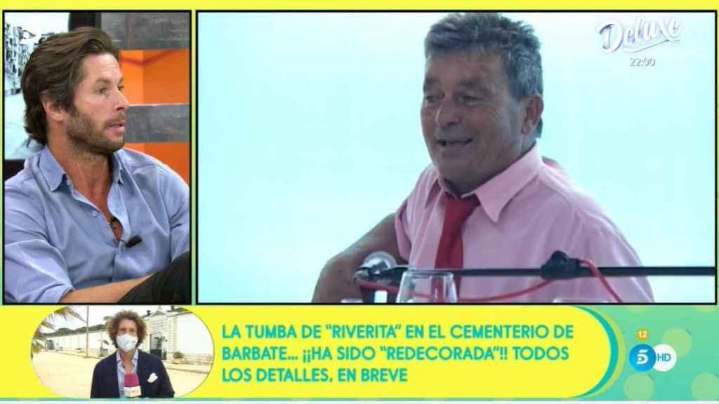 José Antonio Canales abordando la problemática sobre la tumba de su tío.