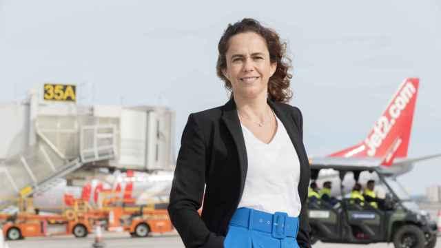 Laura Navarro, directora del aeropuerto de Alicante-Elche.