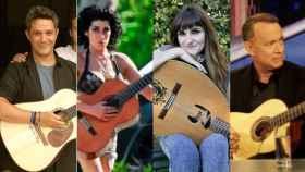 Alejandro Sanz, Amy Winehouse, Rozalén o Tom Hanks son algunos de los artistas que tienen esta guitarra.