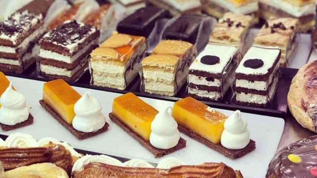 Unos pasteles similares a los que ha retirado la Aesan.