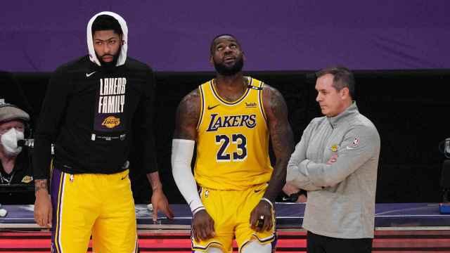 Anthony Davis y LeBron James