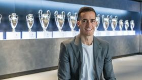 Lucas Vázquez, tras renovar con el Real Madrid