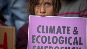 Protesta de Extinction Rebellion en Ciudad del Cabo, Sudáfrica.