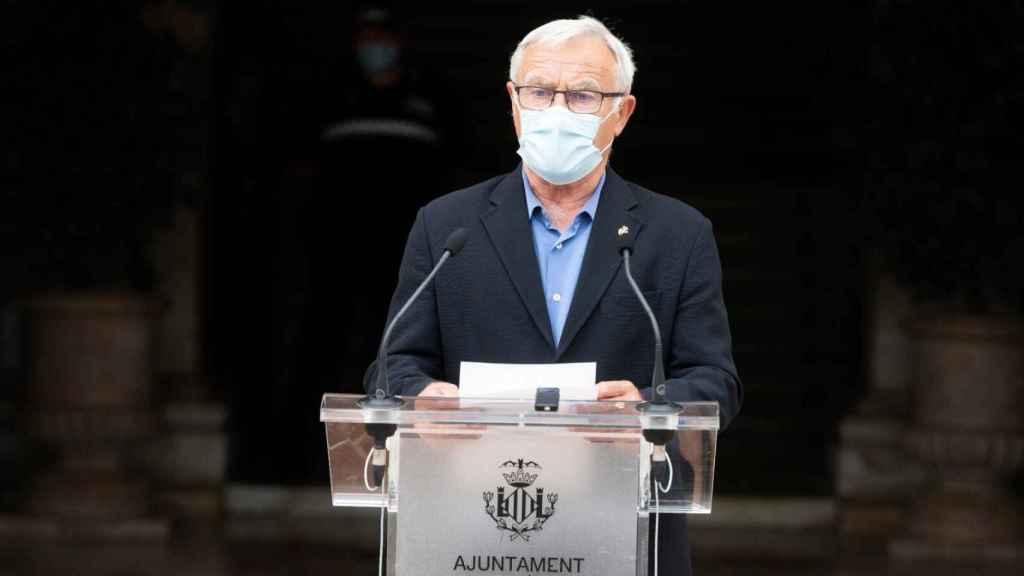 Joan Ribó, alcalde de Valencia. EE