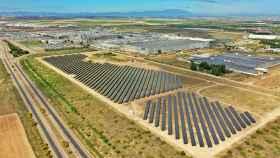 Imagen aérea de la planta de Stellantis Zaragoza.