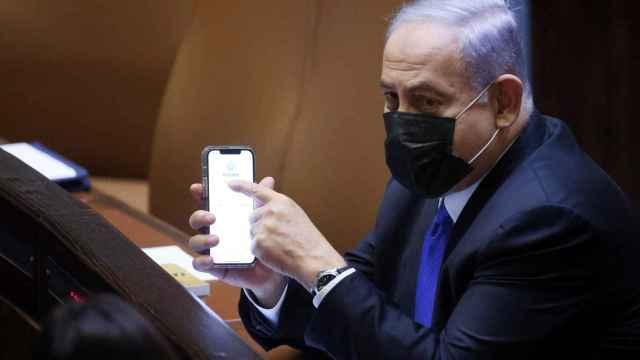 El primer ministro de Isreal, Benjamin Netanyahu.