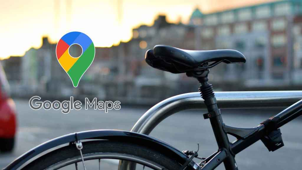 Google Maps truco para bicicletas