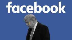 Facebook y Trump.