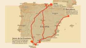 Las rutas del narco.