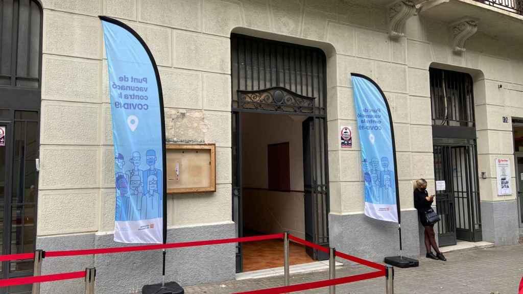 Sant Isidor es ahora un centro de vacunación
