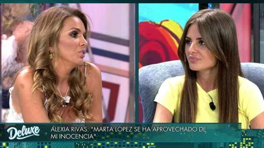 Marta López y Alexia Rivas en 'Socialité'