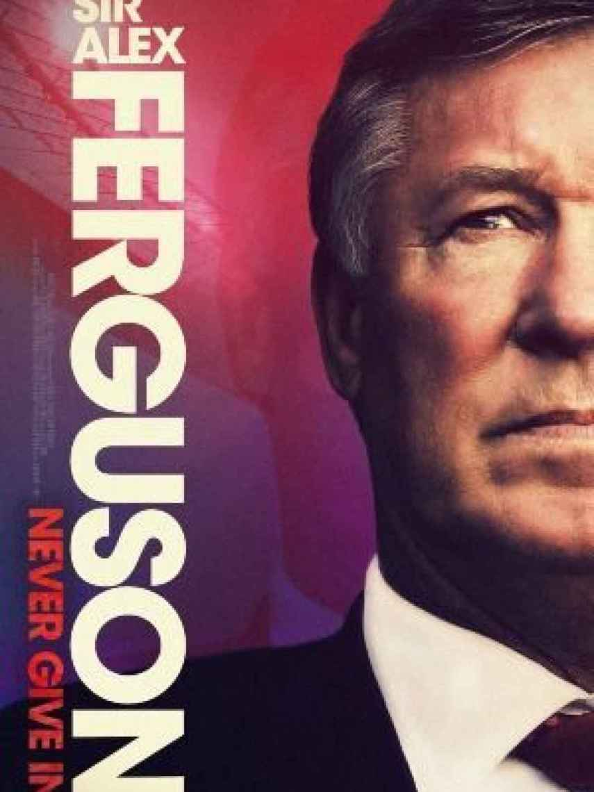 Carte del documental sobre Sir Alex Ferguson