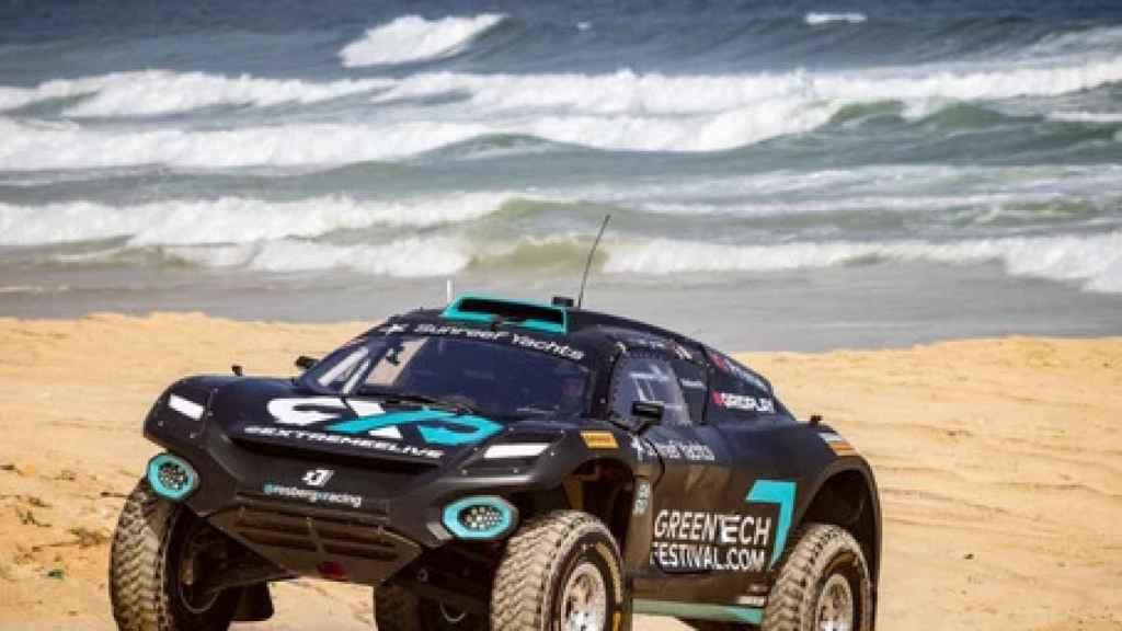 El coche del equipo de Rosberg en la Extreme E