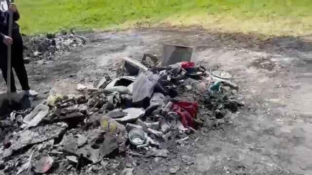 Redada en un pueblo-vertedero de Polonia que recibe la basura del resto de Europa