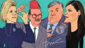 El luto de la reina, refinado Ancelotti, y el hombre bueno de Rabat