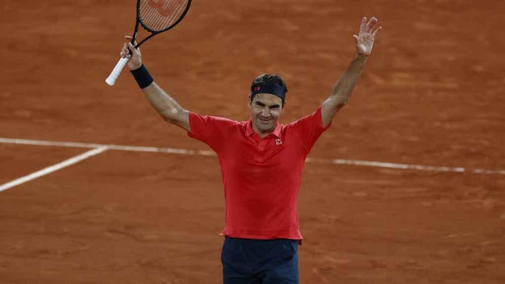 Federer, tras ganar a Koepfer en Roland Garros.