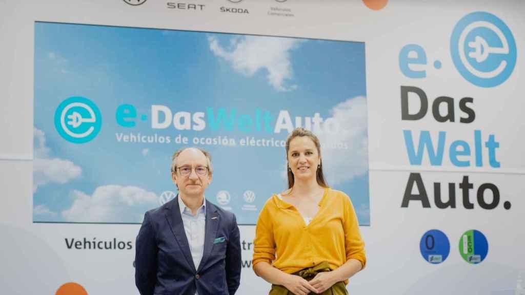 Antonio García y Carolina Vallés, responsables de Das WeltAuto.