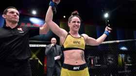 Norma Dumont, tras una victoria en la UFC