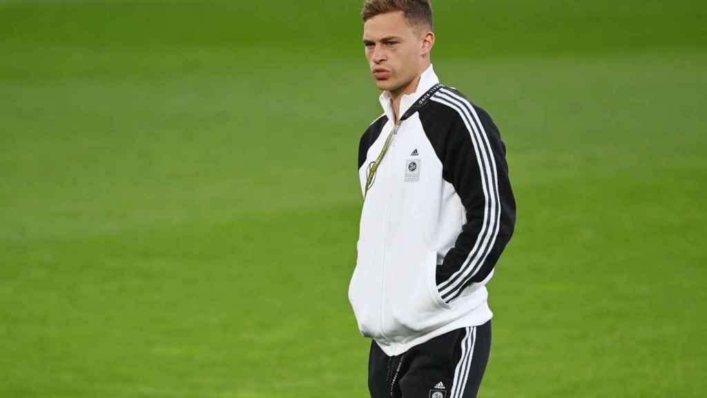 Joshua Kimmich, con la selección de Alemania