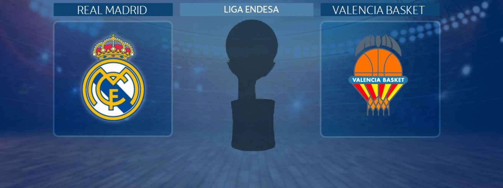 Real Madrid - Valencia Basket, semifinal de la Liga Endesa