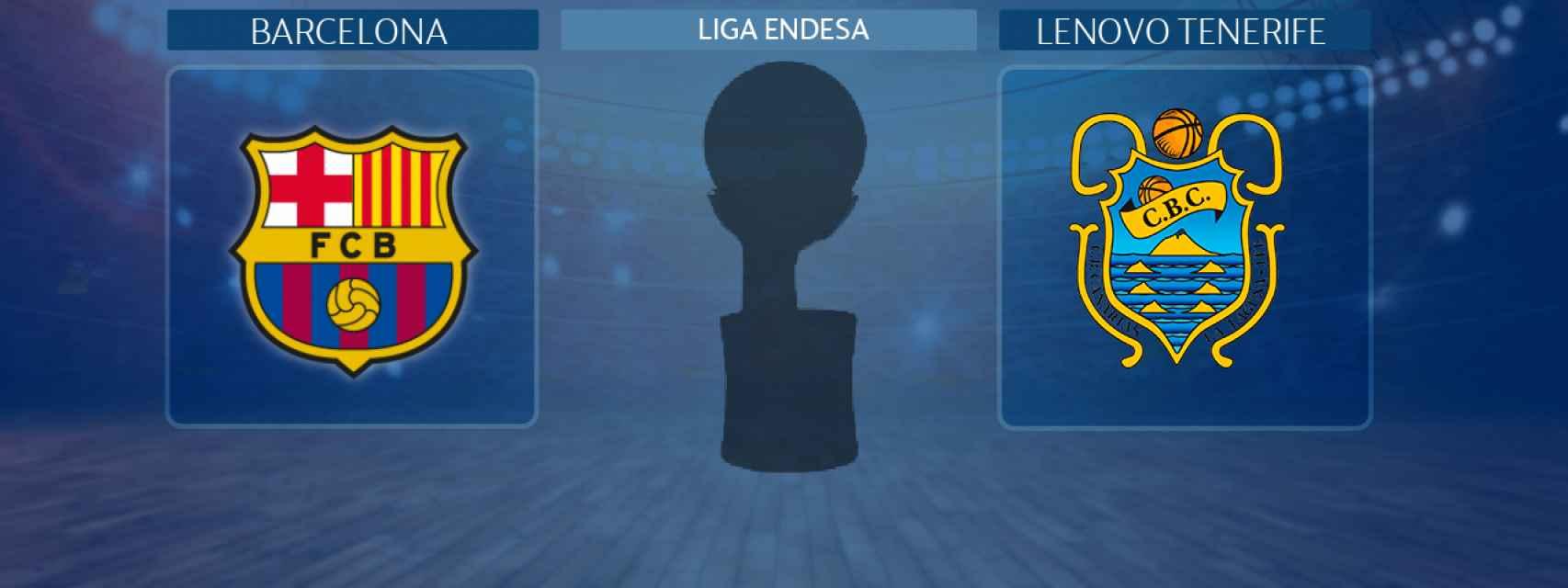 Barcelona - Lenovo Tenerife, semifinal de la Liga Endesa