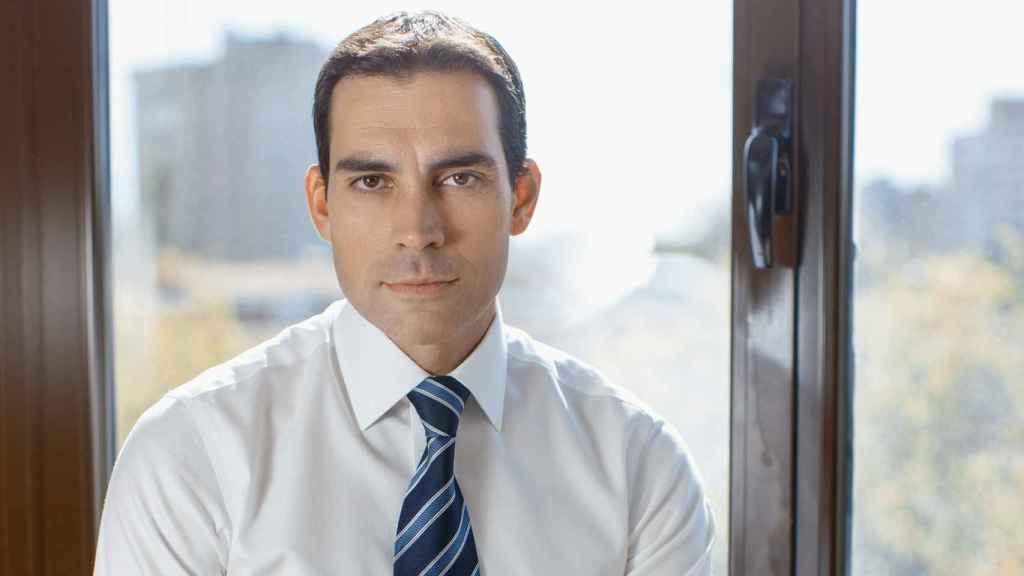 Pablo Pereiro Lage, presidente y consejero delegado de Vértice 360º, en la sede de la compañía.