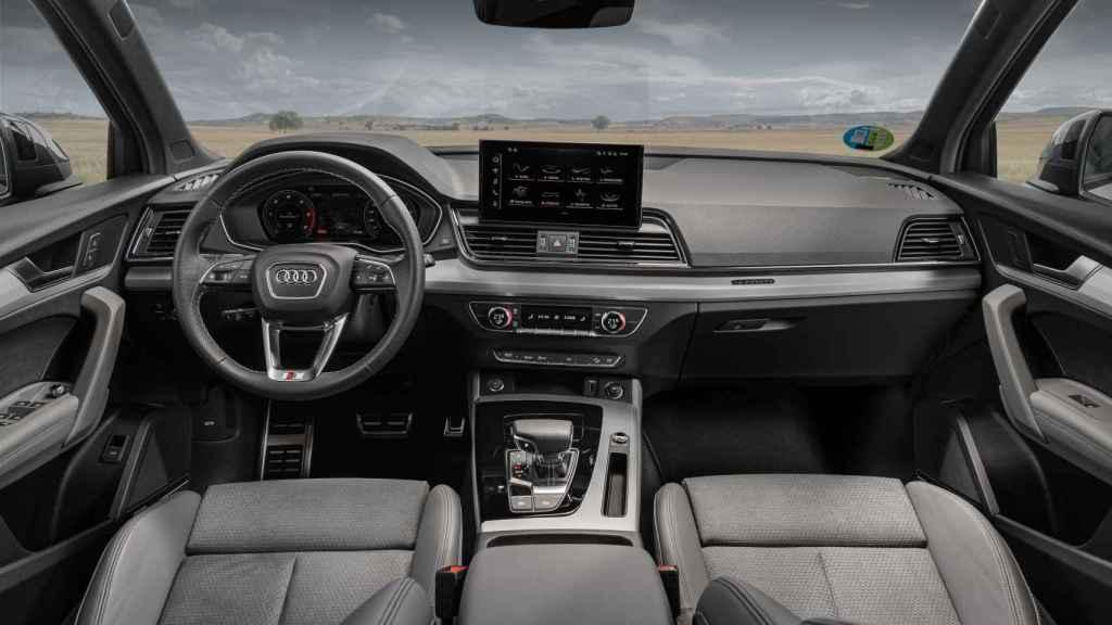 Interior del Audi Q5 Sportback.