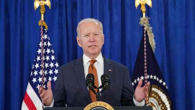 El presidente de Estados Unidos, Joe Biden, en una comparecencia.