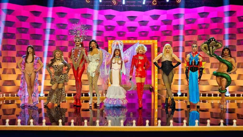 Fotograma del segundo episodio de 'Drag Race España'