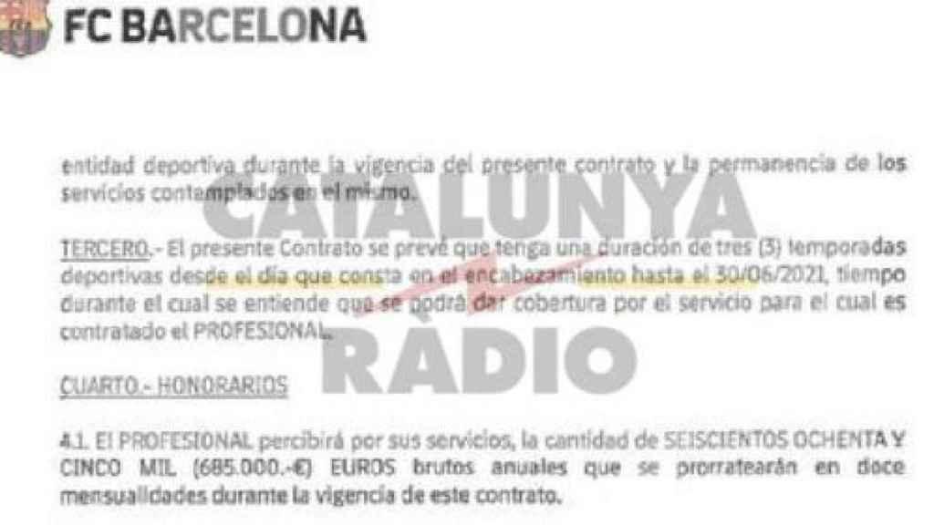 El contrato de André Cury que ha desvelado RAC1