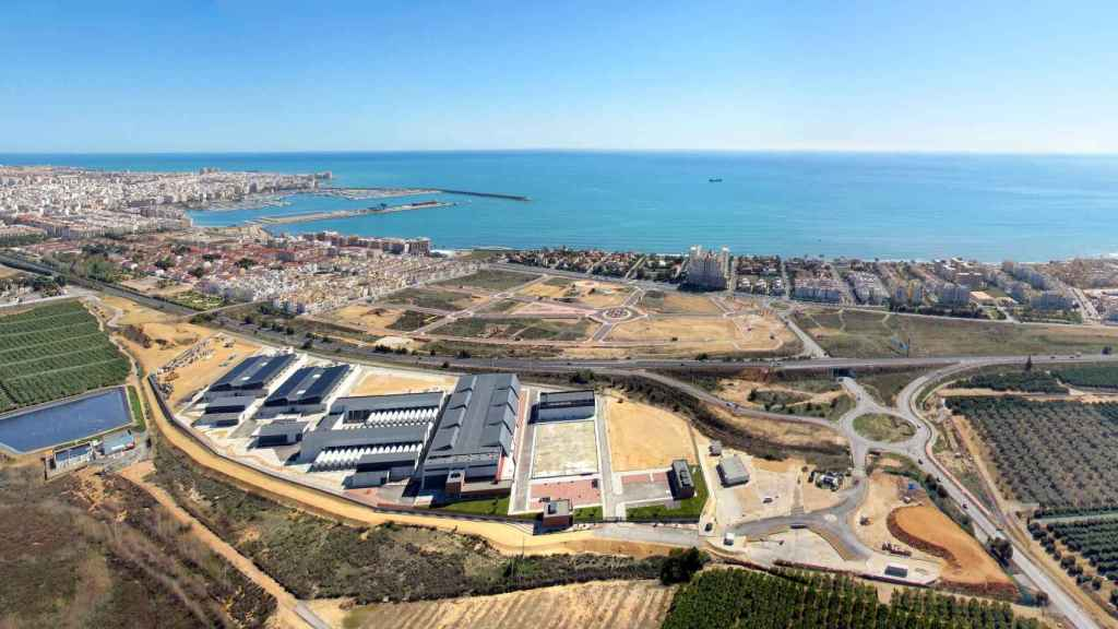 Imagen aérea de la desaladora de Torrevieja, en el sur de Alicante.