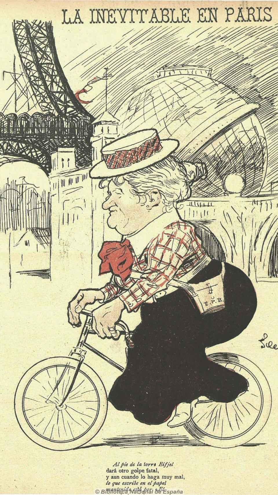 La inevitable en París, Gedeón, 29 de agosto de 1900.