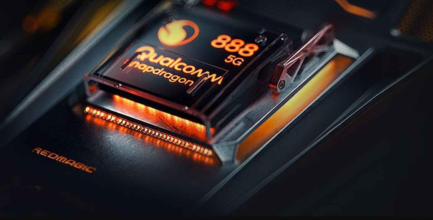 Snapdragon 888 en el RedMagic 6R