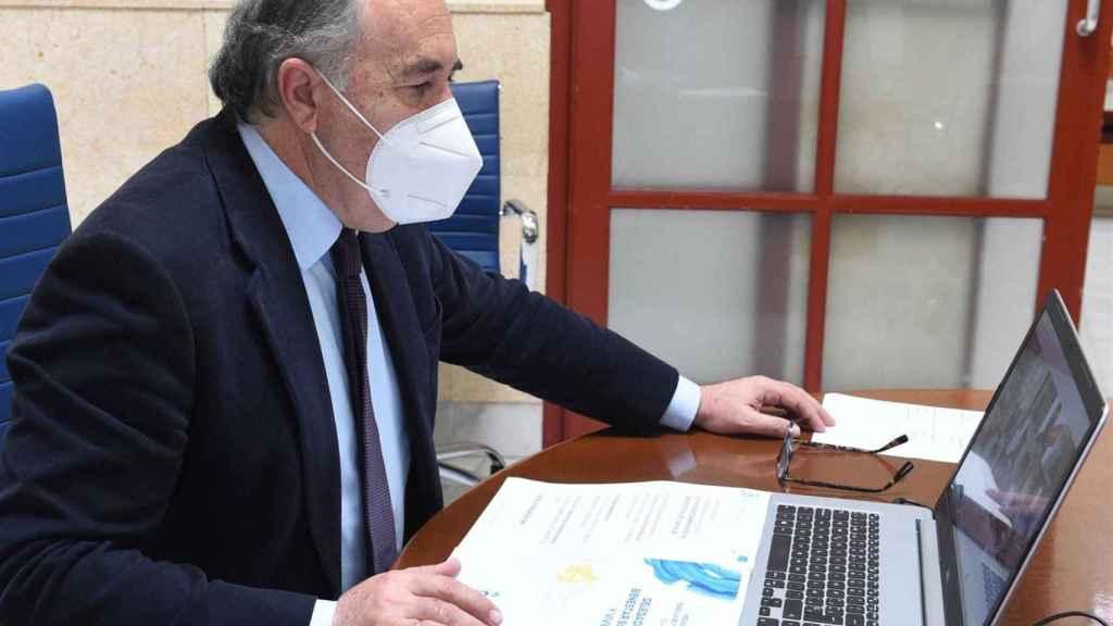 El alcalde de Algeciras, José Ignacio Landaluce.